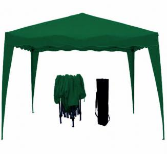 foldable gazebo 3x3m green